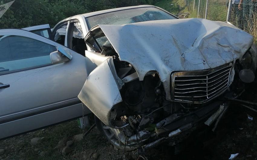 Авария в Габале, есть погибший