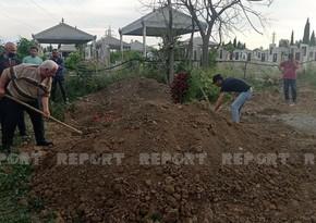 Певец Аслан Гусейнов похоронен в Гяндже