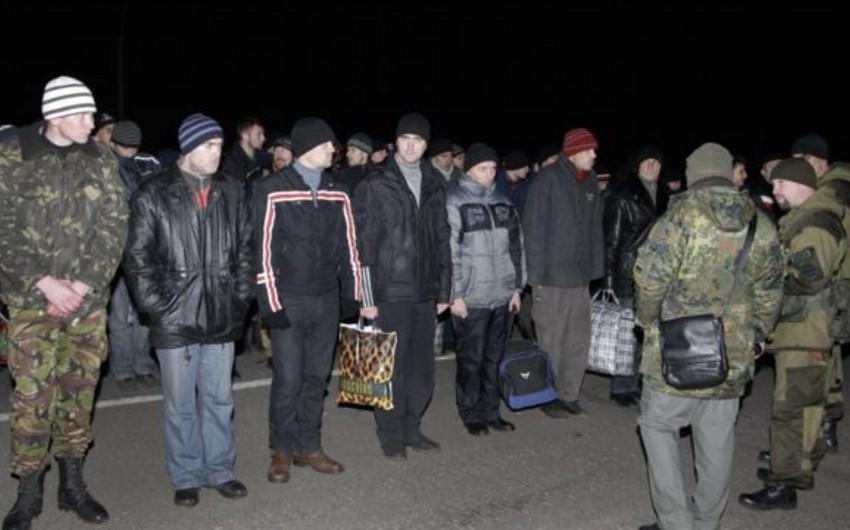 Ukraynada məhbus mübadiləsi başa çatdırılır