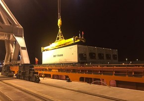 Next block train from China heads to Turkey through Baku Port