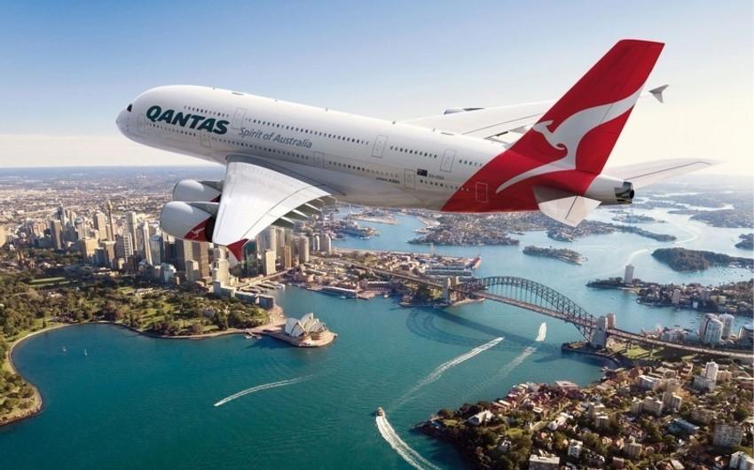 Avstraliya aviaşirkəti 19 saatlıq kommersiya uçuşu həyata keçirib