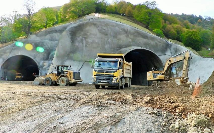 Toğanalı-Kəlbəcər avtomobil yolu üzərində Murovdağ tunelinin inşası davam etdirilir