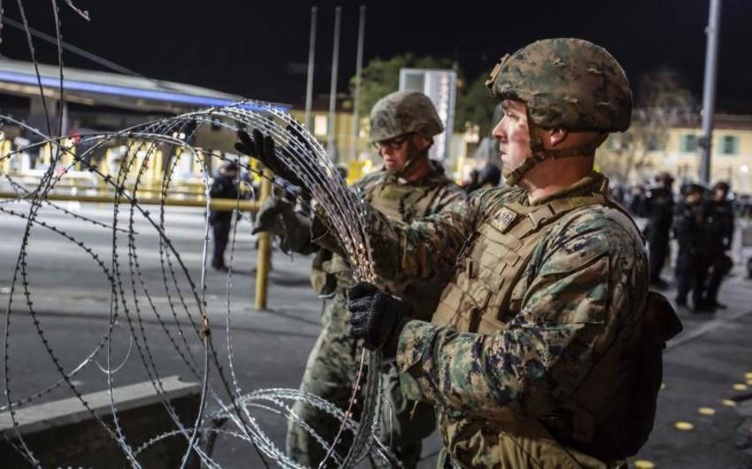 В США продлили срок размещения военных на границе с Мексикой