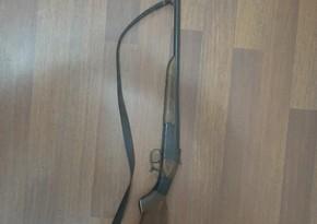 В Зардабе задержан мужчина, незаконно хранивший огнестрельное оружие