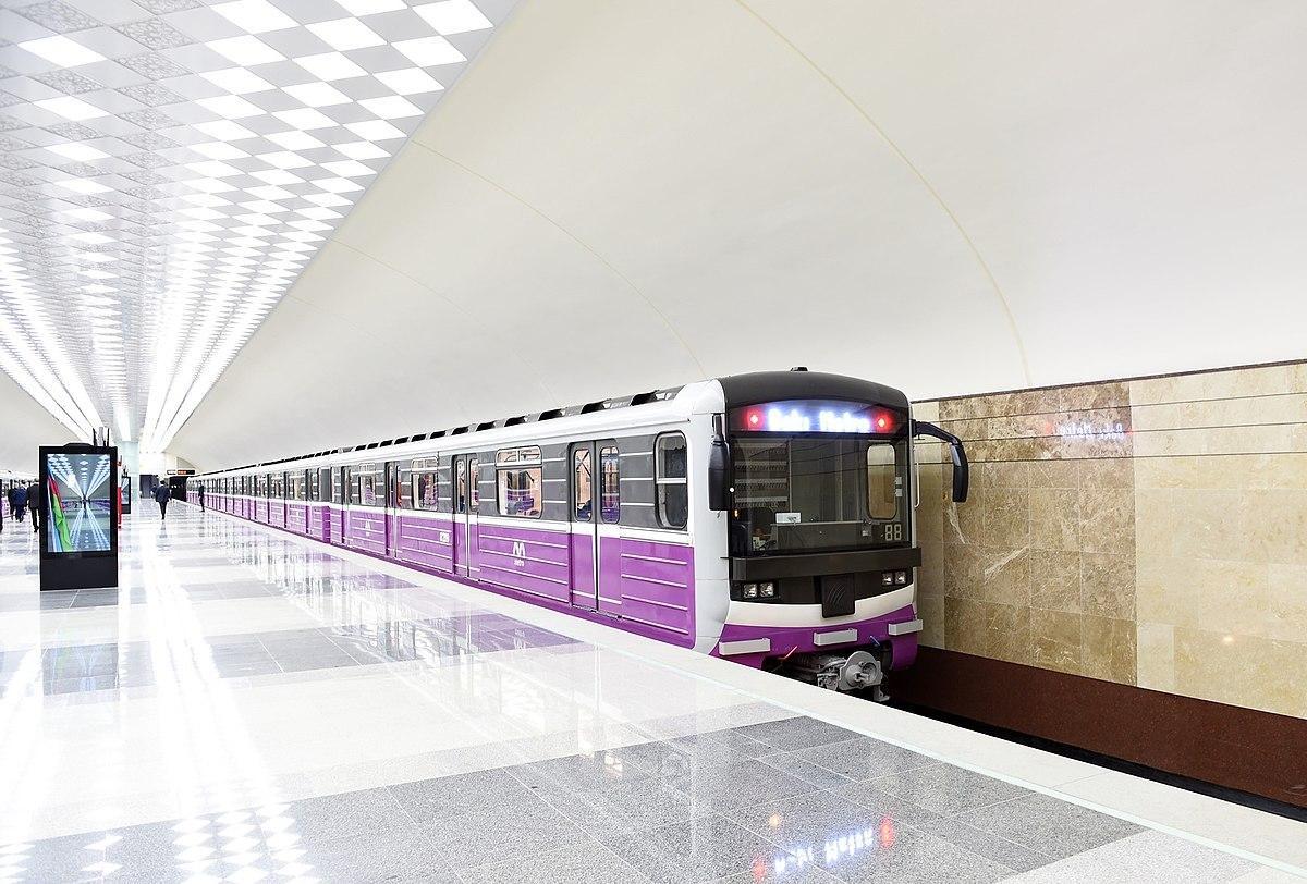 Бакинский метрополитен запустил новые поезда на линию - ОБНОВЛЕНО