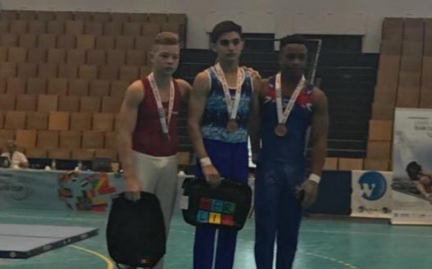 Azərbaycanlı gimnast Almaniyada iki qızıl medal qazanıb