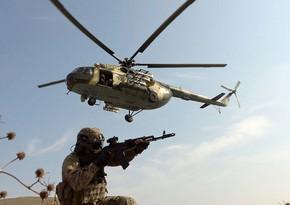 Azərbaycan xüsusi təyinatlı qüvvələrinin təlimləri davam edir