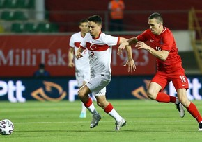 Сборная Азербайджана проиграла Турции