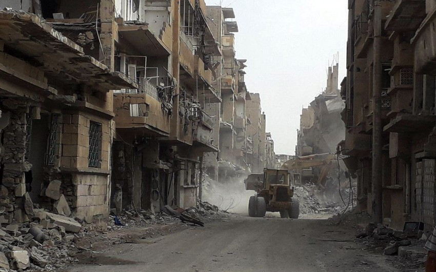 2014-cü ildən Suriya və İraqda koalisiyanın aviazərbələri nəticəsində 1139 dinc sakin ölüb