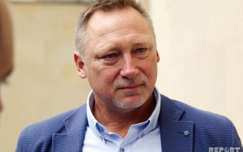 İqor Ponomaryov: Əvvəlcə koronavirusa qalib gələk, sonra AVRO-2020-ni düşünərik