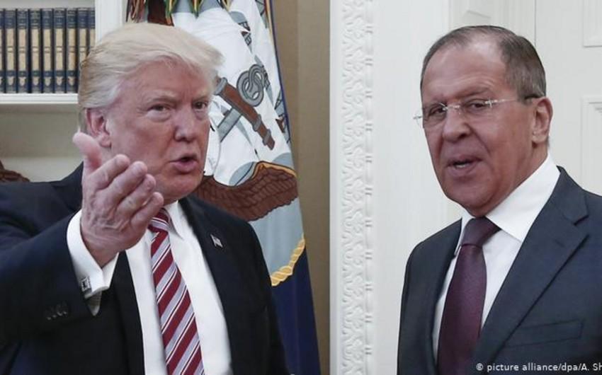 Sergey Lavrov sabah Donald Trampla görüşəcək