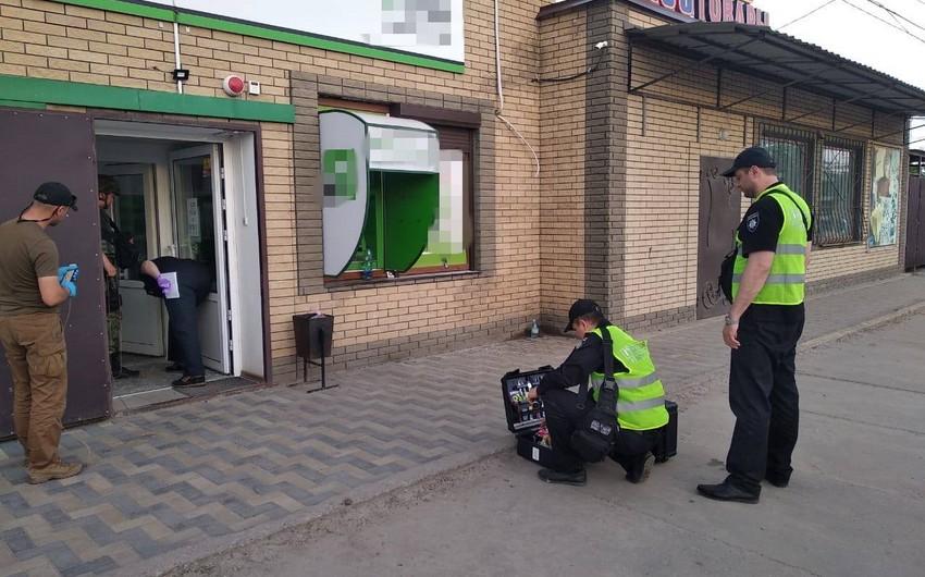 При взрыве в банке на Украине пострадали шесть человек