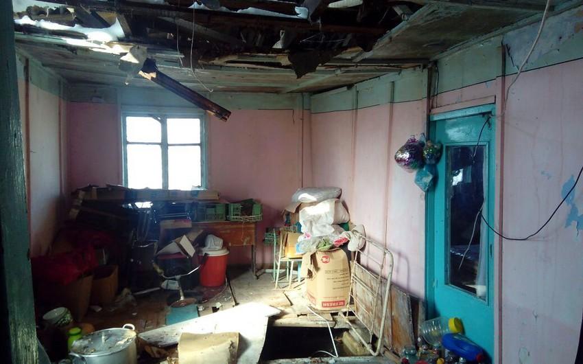 Жители Лянкярана, чьи дома пришли в аварийное состояние, переехали к родственникам - ФОТО
