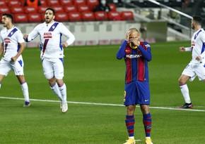 Barselona Messi olmadan qalib gələ bilmədi