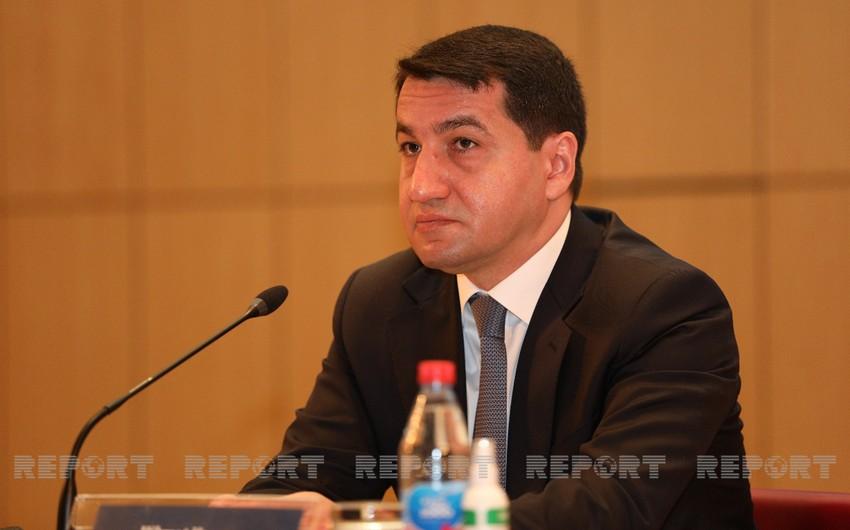 Посол Ирана встретился с Хикметом Гаджиевым во второй раз за неделю