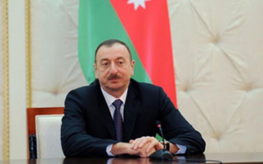 Azərbaycan Prezidenti Yaponiya XİN başçısının müavinini qəbul edib