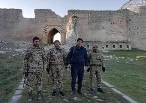 Polis və Daxili Qoşunların hərbçiləri Şuşada komendant rejimində fəaliyyət göstərir