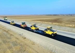Suqovuşan və Talış kəndlərinə gedən yolların asfaltlanmasına başlanılıb