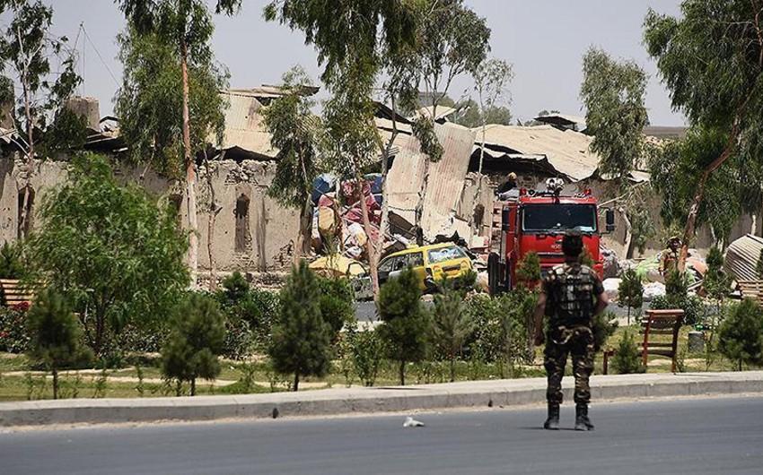 Əfqanıstanda Seçki Mərkəzində partlayış olub, 2 nəfər ölüb, 2 nəfər yaralanıb