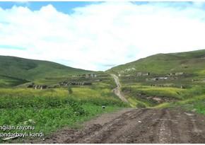 Footage from liberated Isgandarbayli village of Azerbaijan's Zangilan district