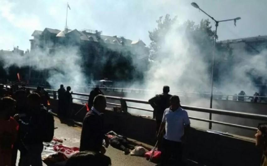 Ankarada güclü partlayış olub, ölən və yaralananlar var - ƏLAVƏ OLUNUB- VİDEO