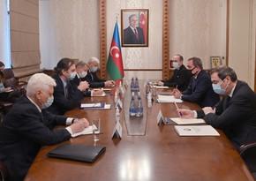 Байрамов встретился с сопредседателями Минской группы