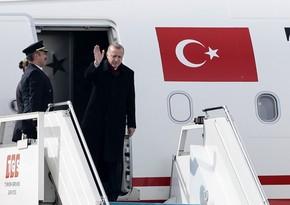 Эрдоган направляется в США для участия в сессии ГА ООН