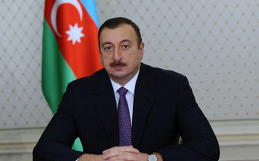 Azərbaycan Prezidenti İran İslam Respublikasının Prezidentinə təbrik məktubu göndərib