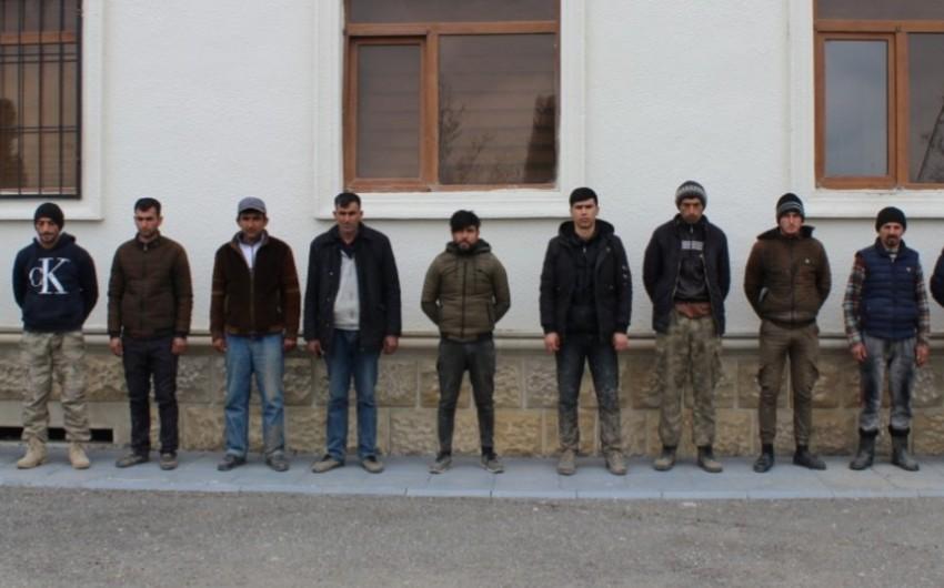 На освобожденных землях Физули задержаны еще 13 любителей острых ощущений
