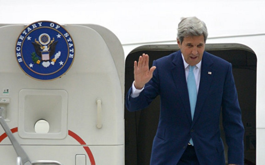 Керри приедет в Москву обсуждать Нагорный Карабах