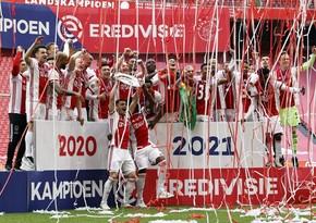 Аякс стал 35-кратным чемпионом Нидерландов