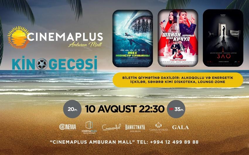 """""""CinemaPlus Amburan"""" kinoteatrında """"Kino Gecəsi"""" keçiriləcək - VİDEO"""