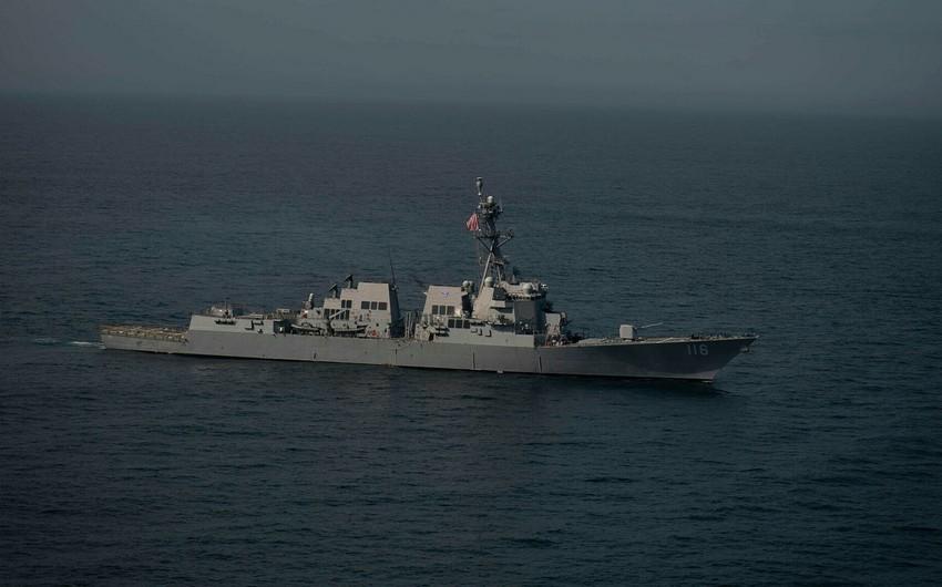 ABŞ-ın hərbi gəmisi Qara dənizə yan alıb