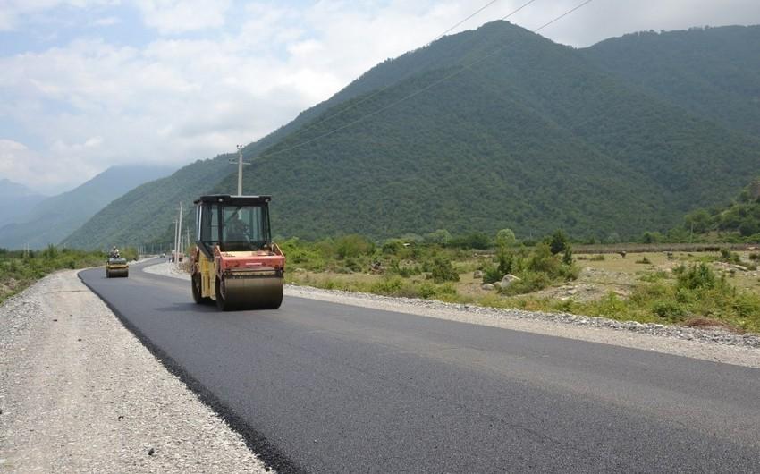 Президент Ильхам Алиев выделил на строительство дороги в Хызы 850 тысяч манатов