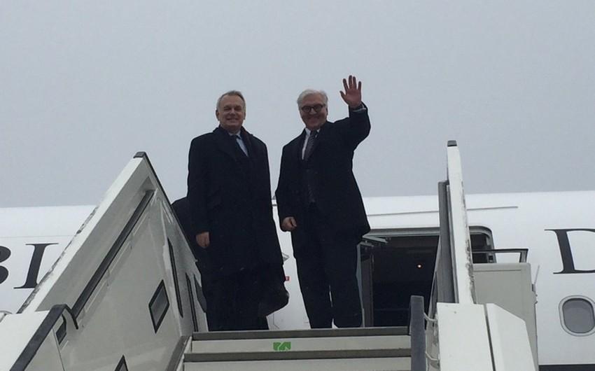 Almaniya və Fransa XİN başçıları Ukraynaya yola düşüb