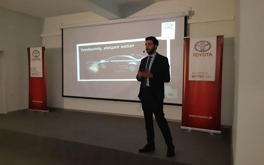Toyota Azərbaycan bazarına iki yeni modelini təqdim edəcək