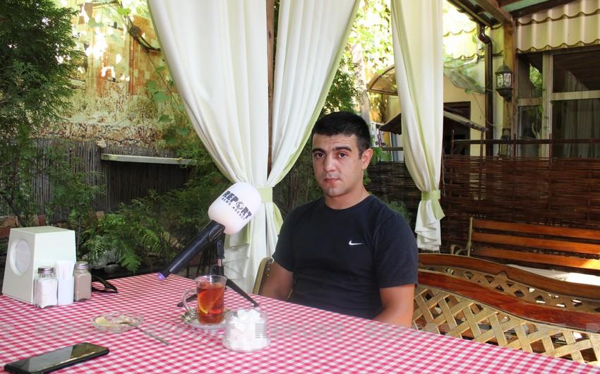 """Снайпер, племянник Национального героя: Я очень хочу вновь побывать в Азербайджане"""""""