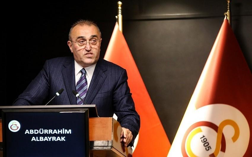 Qalatasarayın vitse-prezidenti koronavirusa qalib gəldi