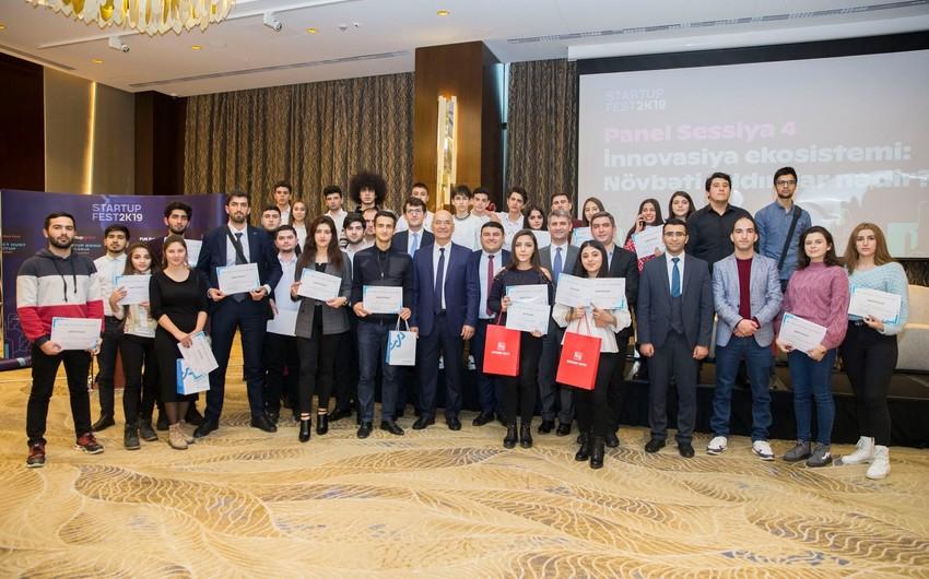 Azərbaycan Beynəlxalq Bankı startapçı gəncləri mükafatlandırıb