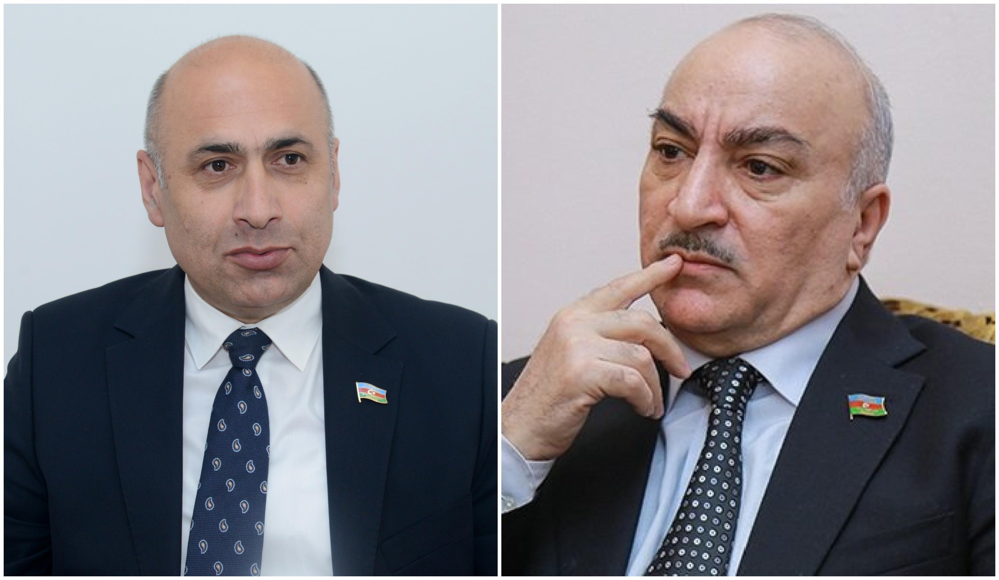 Azər Badamov və Tahir Kərimli