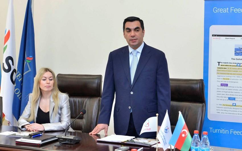 Bakı Ali Neft Məktəbi ABŞ-ın Turnitin şirkəti ilə əməkdaşlıq müqaviləsi imzalayıb