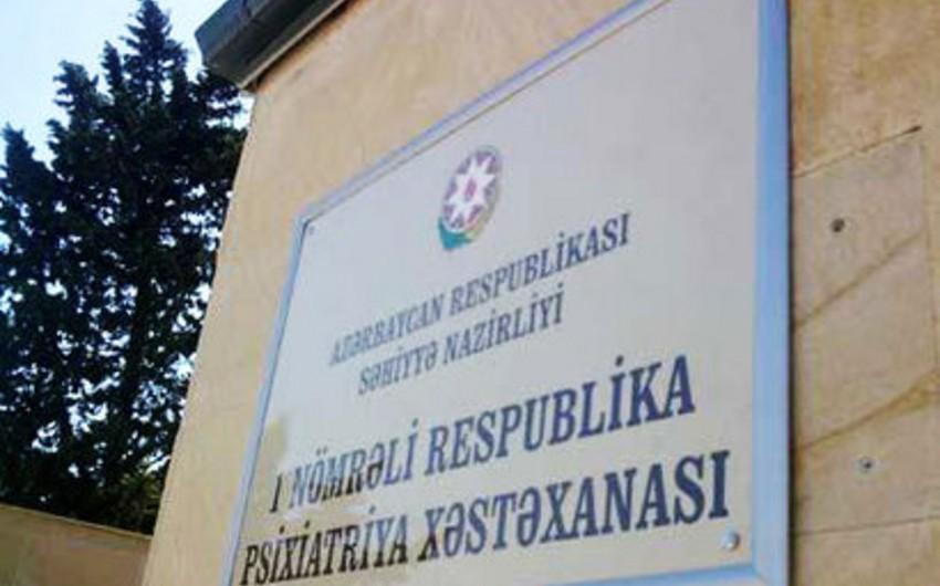 Bir nömrəli Respublika Psixatriya Xəstəxanasında ölüm hadisəsi baş verib