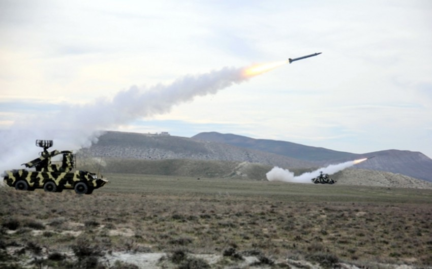 Combat shooting exercises of Azerbaijani Air Defense Troops was held