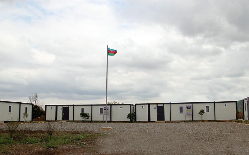 В Агдаме и Ходжавенде состоялось открытие новых воинских частей