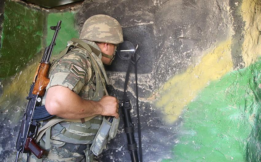 Ermənistan silahlı qüvvələri mövqelərimizi atəşə tutub