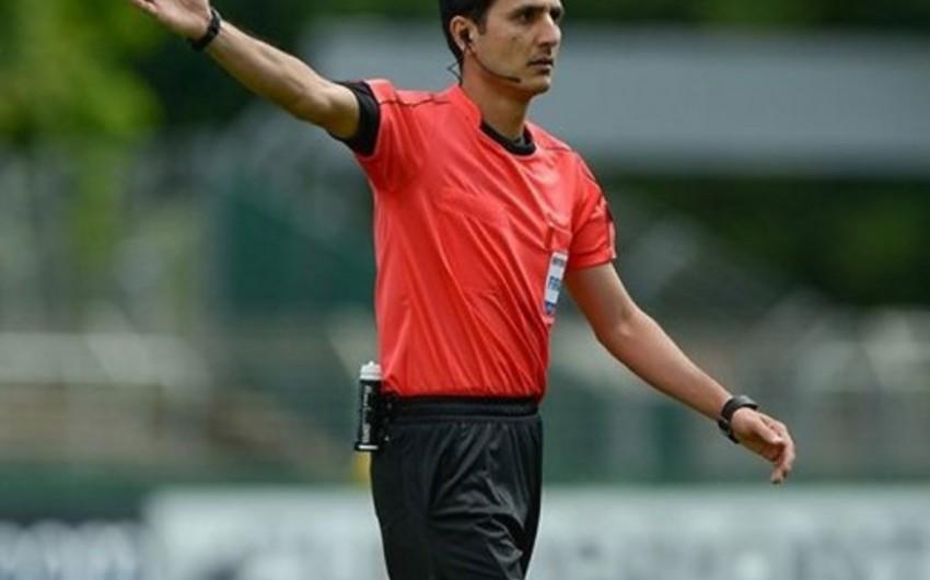 Azerbaijani referees brigade at Europa League match named