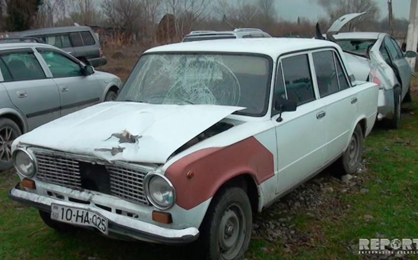 В Барде автомобиль сбил переходившую дорогу женщину