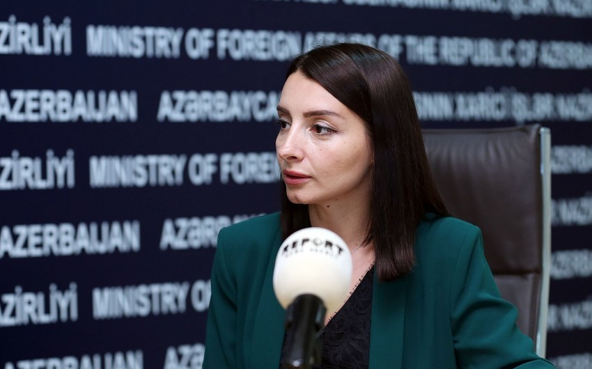 Leyla Abdullayeva: Azərbaycan və Ermənistan xarici işlər nazirlərinin görüşünə hazırlıq gedir