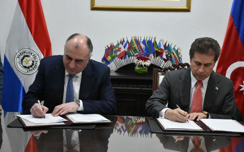 Эльмар Мамедъяров провёл ряд встреч в рамках первого официального визита в Парагвай