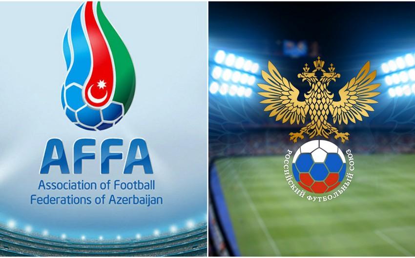 AFFA Rusiya Futbol İttifaqına etiraz məktubu göndərib